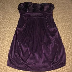 Satin-y, shiny Formal Dress
